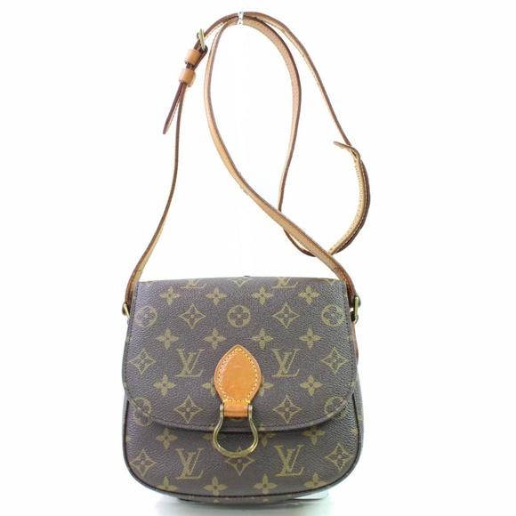46f897bd18ec Louis Vuitton Handbags - 100% Auth Louis Vuitton Saint Cloud MM Sling Bag